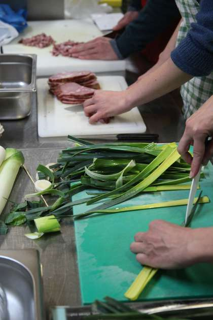 You will be surprised what for all this leek is going to be used.