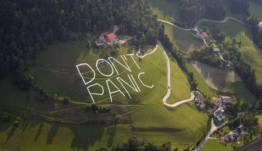 DON'T PANIC - Vitanje Space Call; photo: Rok Deželak