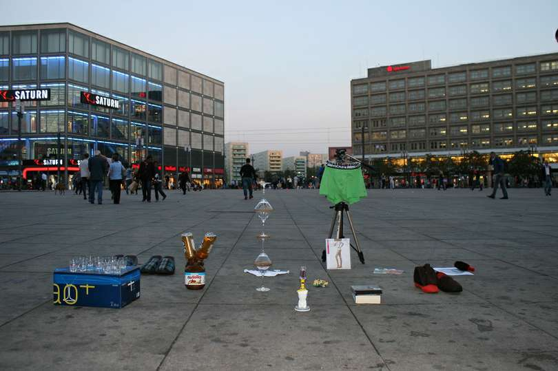Action in Berlin, photo: Made in China